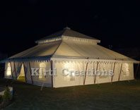 Extravagant Traditional Tent