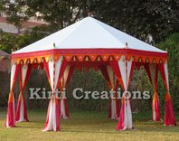 Monolithic Traditional Tent