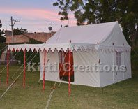 Outdoor Lily Pond Tent